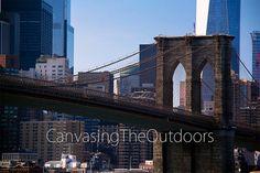 Brooklyn Bridge Canvas Wall Art by CanvasingtheOutdoors on Etsy