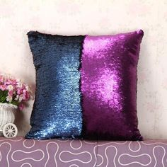 Liven up any room with these great mermaid cushion covers. Available in 11 colours. Great gift idea. Click Visit For Today's Deals. Whilst Stocks Last! #BigStarTrading
