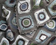 Circle squares blanket | por Sue McLoughlin