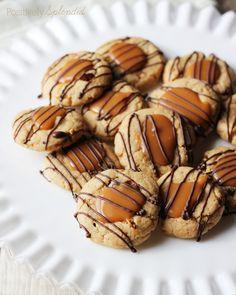 Peanut Butter Toffee Turtle Cookie Recipe