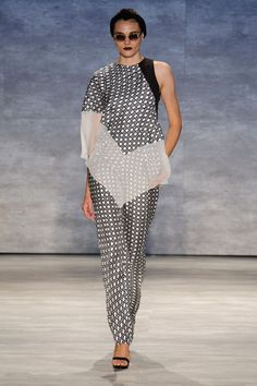 Bibhu Mohapatra at New York Fashion Week Spring 2015 - Runway Photos