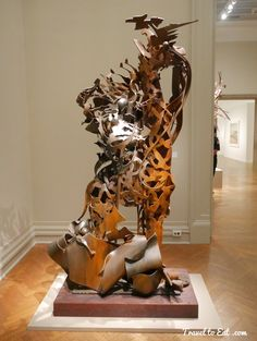 Giraffe 2006, Albert Paley. Corcoran Gallery, Washington DC