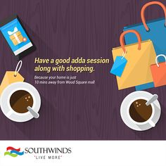#Shopping is easy when you live in #southwinds!  #Kolkata