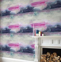 bluebellgray Lewis Set of 2 x 10m rolls Blue / Pink Wallpaper extra image