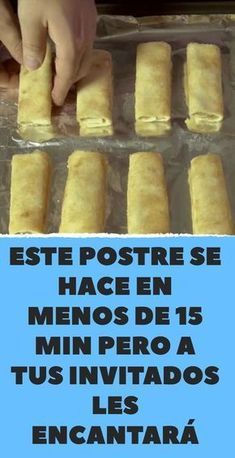 This dessert is made in less than 15 min but your guests will love it faciles gourmet de cocina de postres faciles pasta saludables vegetarianas Apple Desserts, Fall Desserts, Tapas, Apple Cinnamon Rolls, Cake Recipes, Dessert Recipes, Ice Cream Recipes, Food Cakes, Food And Drink