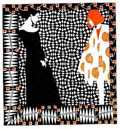 Koloman Moser    Koloman Moser (1868 - 1918) - Austrian graphic artist, painter, illustrator, printmaker, designer (stained glass, ceramics, porcelain, blown glass, tableware, silver, jewelry, furniture, textiles, etc.) - member of the Vienna Secession and co-founder of the Wiener Werkstätte. Patterns