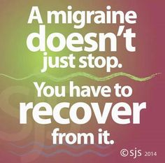 Yes! The side effects of my medicine alone take time to recover from...especially if I have to take an extra dose.