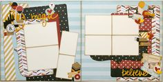 Magic Moments layout kit from Paisleys and Polka Dots.  Designed using the Say Cheese II collection from Simple Stories.