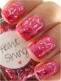 Heart Strings over Essence Ultimate Pink