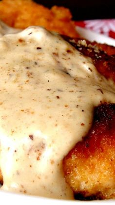 Butter Cream Chicken Recipe ~ simple execution…simply delightful to eat and enjoy... The chicken is lightly breaded in Ritz Crackers, pan fried (not deep fried) and topped with a heavenly butter and cream sauce.