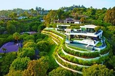 "Increíble ""Casa de lujo Laurel Way"" en Beverly Hills por Whipple Russell Architects"