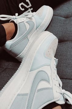 From the court in to today's fashion scene, the Air Force 1 continues to revolutionize sneaker culture. Find the latest Air Force 1 styles at Nike. Dr Shoes, Cute Nike Shoes, Cute Sneakers, Hype Shoes, Casual Sneakers, Sneakers Fashion, Me Too Shoes, Nike Fashion, Shoes Cool