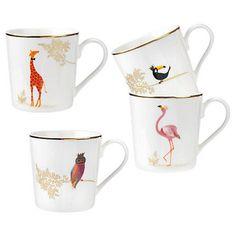 Buy Sara Miller Genteel Giraffe Mug Online at johnlewis.com