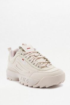 Fila Disruptor Pink Low Top Trainers | Women | Shoes | Trainers | Urban Outfitters
