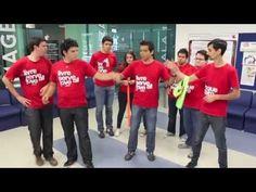 Dinámica: Listones (Trabajo en equipo) - YouTube