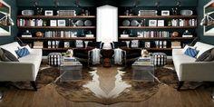 Living Room Bookshelf Decorating