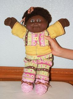 OOAK AA Cabbage Patch Doll w/Hand-Crafted by uplovecreations