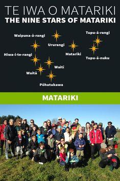 Te Iwa o Matariki Early Education, Early Childhood Education, Maori Words, Maori Symbols, Marine Plants, Flax Flowers, Early Childhood Activities, Maori People, All Things New