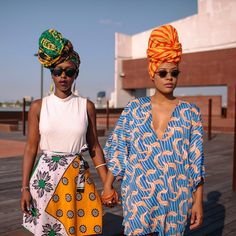 Keep your eyes peeled for a new post tomorrow, featuring some sky high headwraps and photography by Patrick Melon noirlinians.com