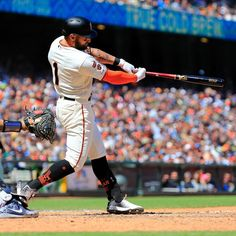2ead1189d Kevin Pillar becomes first Giant since Bonds in 2002 to record 4 RBI in  back to