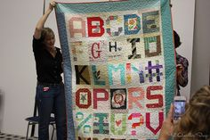 Moda Alphabet quilt