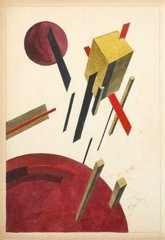 El Lissitzky, Pronoun 5A, n.d.