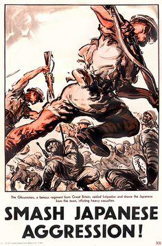 WW2 ... smash the jap (UK) WW2, history, United Kingdom, propaganda