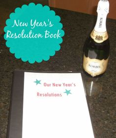 New Year's Resolution Book