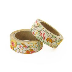 Liberty of London Fabric Masking Tape  Claire Aude by craftyjapan, $16.00