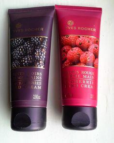 *Loevens makeup rambles*: Yves Rocher redberries & blackberries LE hand crea...