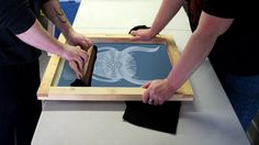 paintedbrainzine: Ghetto Screen printing - A guide to getting started in screen printing on a low budget.