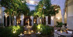 February 2012: La Villa des Orangers - Marrakesh, Morocco