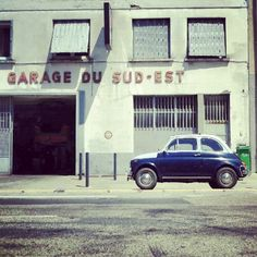 Fiat 500 and Garage du Sud-Est