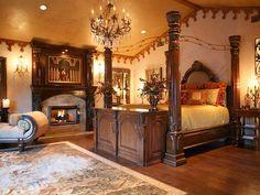 Tuscan design – Mediterranean Home Decor Dream Bedroom, Home Bedroom, Bedroom Furniture, Bedroom Decor, Bedroom Ideas, Modern Bedroom Design, Contemporary Bedroom, Tuscan Bedroom, Boudoir
