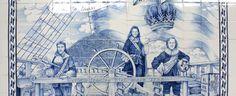 In 'The Green House' in Amsterdam zijn verschillende handbeschilderde tableaus geplaatst in oudhollandse stijl.