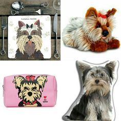 Yorkie gifts at www.twowoofs.co.uk