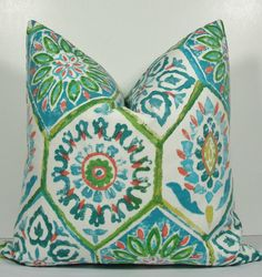 Gorgeous Moroccan Ikat Pillow  Decorative Pillow by WilmaLong, $38.00