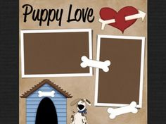 premade digital scrapbook page for the fur baby :) Etsy by Audrey McMillion Dog Scrapbook Layouts, Paper Bag Scrapbook, Love Scrapbook, Recipe Scrapbook, Scrapbook Sketches, Scrapbook Supplies, Scrapbook Cards, Scrapbook Photos, Scrapbooks