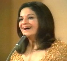 Frida Boccara - France, one of the four winners of the Eurovision Song Contest 1969 in Madrid