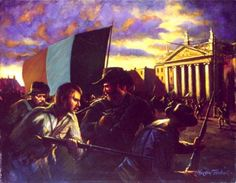 They raise their battle cry Ireland 1916, Irish Independence, Easter Rising, The Ira, In Cold Blood, Irish Eyes, Family Genealogy, Freedom Fighters, My Land
