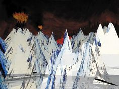 Stanley Donwood Radiohead artwork