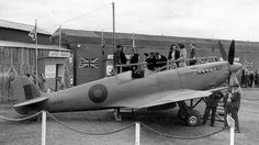 Spitfire Mk.VIII during the 'Liberty Cavalcade' in Cape Town March 1944| Flickr - Photo Sharing!
