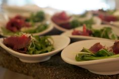 Complimentary aperitivo at our recent live jazz event! It was as delicious as it looks.