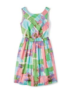 Vintage Bow Dress WH819 Cocktail at Boden