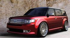 From its introduction, Ford has billed the 2009 Flex as a hip, urban lifestyle vehicle.