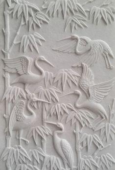 Wall Art Wallpaper, Mural Wall Art, Mural Painting, Clay Wall Art, Ceramic Wall Art, Clay Art, Wood Sculpture, Wall Sculptures, Plaster Art