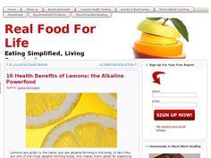 16 Health Benefits of Lemons: the Alkaline Powerfood Herbal Remedies, Natural Remedies, Lemon Facial, Lemon Health Benefits, Fruits And Veggies, Superfood, Real Food Recipes, Cleanser, Health And Wellness