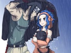 Fairy Tail Gajevy (Gajeel and Levy) Fairy Tail Levy, Fairy Tail Ships, Fairy Tail Amour, Fairy Tail Anime, Nalu, Fairytail Natsu, Jerza, Gajeel Und Levy, Couples Fairy Tail