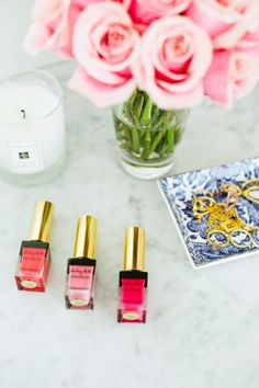 YSL Kiss and Blush... for eyes and cheeks!