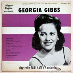 Rare 1950's record, Gibbs was known for taking blues songs and putting a jazz spin on them.